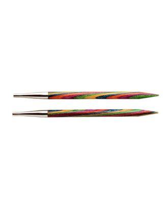 20421 Knit Pro Спицы съемные Symfonie 3мм для длины тросика 20см, дерево, многоцветный, 2шт арт. МГ-19202-1-МГ0179491