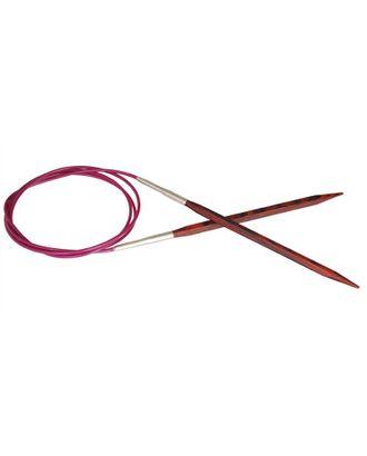 Спицы круговые Knit Pro 25332 Cubics 3,5мм/80см, дерево, коричневый арт. МГ-19223-1-МГ0179521