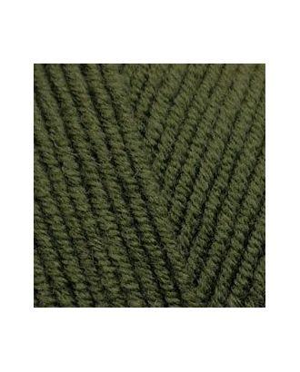Пряжа для вязания Ализе LanaGold (49% шерсть, 51% акрил) 5х100г/240м цв.029 хаки арт. МГ-19305-1-МГ0179810