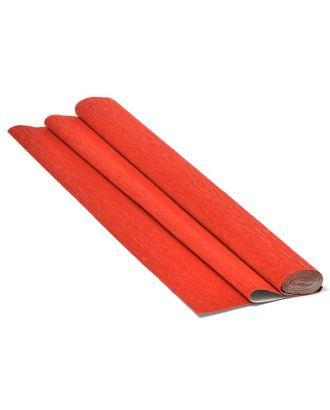 Бумага гофрированная Италия 50см х 2,5м 180г/м² цв.803 красная арт. МГ-19589-1-МГ0181198