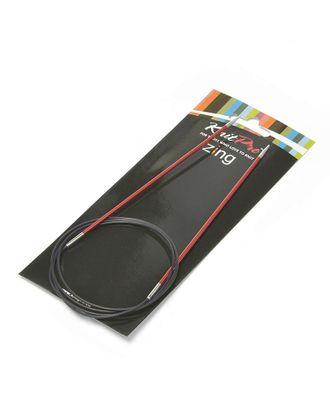 47153 Knit Pro Спицы круговые Zing 2,5мм/100см, алюминий арт. МГ-19636-1-МГ0181395