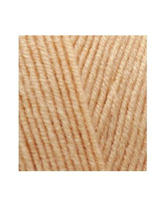 Пряжа для вязания Ализе LanaGold (49% шерсть, 51% акрил) 5х100г/240м цв.680 медовый арт. МГ-19724-1-МГ0181742
