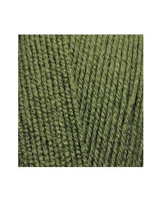 Пряжа для вязания Ализе LanaGold 800 (49% шерсть, 51% акрил) 5х100г/800м цв.029 хаки арт. МГ-19727-1-МГ0181745