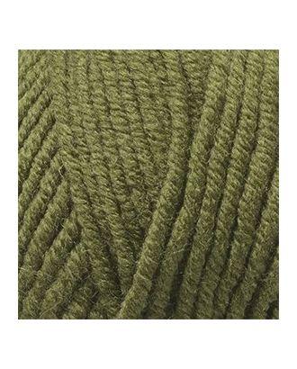 Пряжа для вязания Ализе Lana Gold Plus (49% шерсть, 51% акрил) 5х100г/140м цв.029 хаки арт. МГ-19740-1-МГ0181794