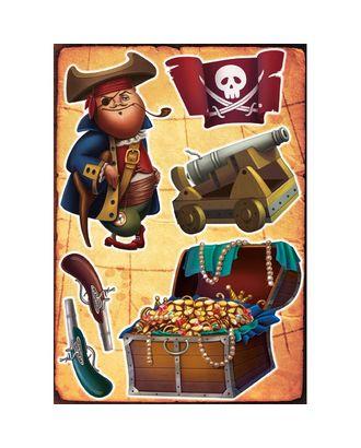 Интерьерная наклейка Сокровища Пирата 70х50см арт. МГ-78210-1-МГ0181947
