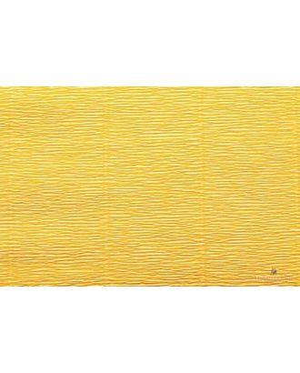 Бумага гофрированная Италия 50см х 2,5м 180г/м² цв.576 св.оранжевый арт. МГ-20091-1-МГ0184438