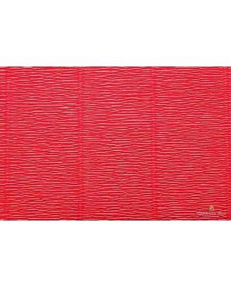 Бумага гофрированная Италия 50см х 2,5м 180г/м² цв.580 красный арт. МГ-20092-1-МГ0184439