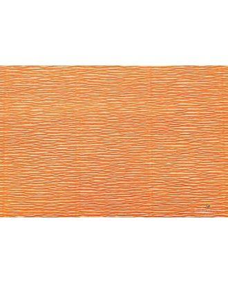 Бумага гофрированная Италия 50см х 2,5м 180г/м² цв.581 оранжевая арт. МГ-20093-1-МГ0184440