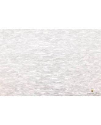 Бумага гофрированная Италия 50см х 2,5м 180г/м² цв.600 белый арт. МГ-20101-1-МГ0184448