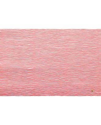 Бумага гофрированная Италия 50см х 2,5м 180г/м² цв.601 персиковый арт. МГ-20102-1-МГ0184449