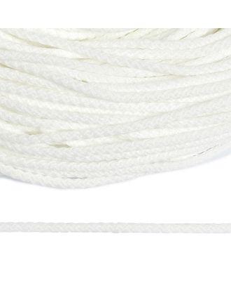 Шнур полиэфир, 1с-31, 2.5мм, цв.001 белый арт. МГ-1663-1-МГ0185605