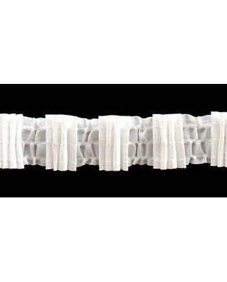 Лента шторная 46мм сборка: 4 складки цв. белый рул. 50м арт. МГ-1673-1-МГ0185669