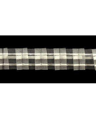 Лента шторная 40мм сборка: две складки цв. прозрачный рул. 50м арт. МГ-1682-1-МГ0185873