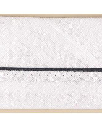 Корсаж брючный закрытый (БЯЗЬ) цв.белый ш. 50-51мм арт. МГ-1710-1-МГ0186297