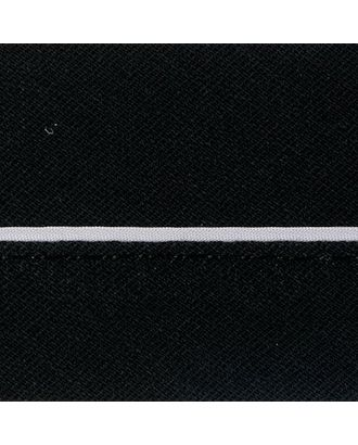 Корсаж брючный закрытый (БЯЗЬ) цв.черный ш.50-51мм арт. МГ-1711-1-МГ0186298