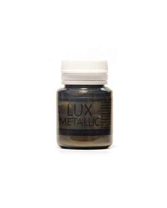 Акриловая краска LuxMetallic Золото черное 20мл арт. МГ-68391-1-МГ0188592