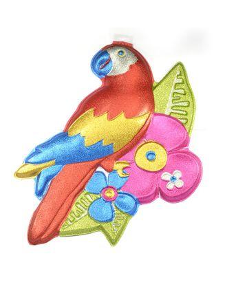 UT.1401-0142 Баннер Попугай пласт блеск арт. МГ-78270-1-МГ0189448