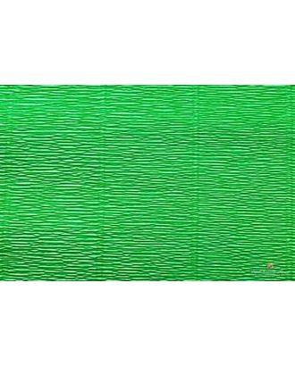 Бумага гофрированная Италия 50см х 2,5м 140г/м² цв.963 зеленая арт. МГ-20945-1-МГ0190439