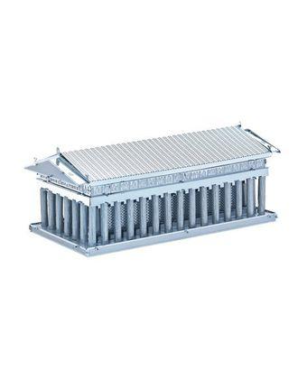 Объемная металлическая 3D модель Parthenon 8,2х4,1х3,2см арт. МГ-21032-1-МГ0191049