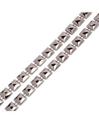 Тесьма пластиковая A04 цв.01 т.никель разм.10х10мм уп.9.14м арт. МГ-68562-1-МГ0191300