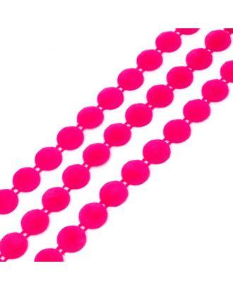 Тесьма пластиковая A05 цв.01 малиновый Ø12мм уп.9.14м арт. МГ-68566-1-МГ0191354
