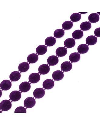 Тесьма пластиковая A05 цв.02 фиолетовый Ø12мм уп.9.14м арт. МГ-68567-1-МГ0191355