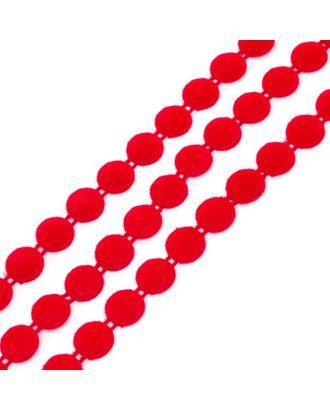 Тесьма пластиковая A05 цв.04 красный Ø12мм уп.9.14м арт. МГ-68569-1-МГ0191357
