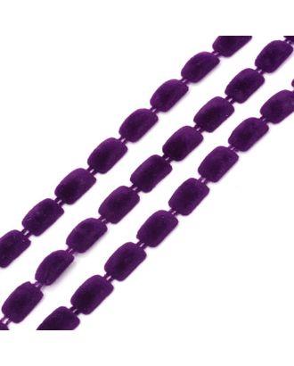 Тесьма пластиковая A2014-02 цв.2 фиолетовый разм.8х13мм уп.9.14м арт. МГ-68587-1-МГ0191399