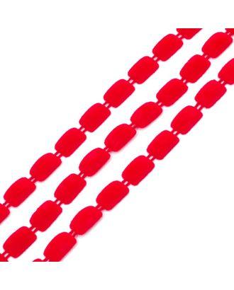 Тесьма пластиковая A2014-02 цв.4 красный разм.8х13мм уп.9.14м арт. МГ-68601-1-МГ0191592