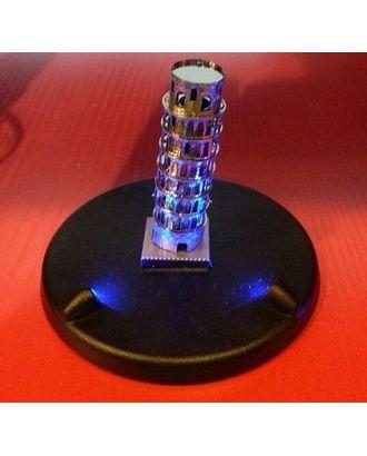 Подставка для металлической модели с подсветкой 9,5х9,5х1,5см арт. МГ-21081-1-МГ0191737
