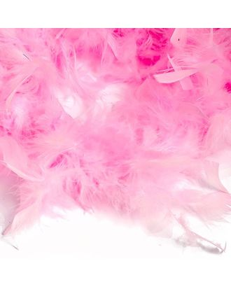 Боа-перо уп.50±3г цв.розовый уп.2м арт. МГ-78293-1-МГ0193034