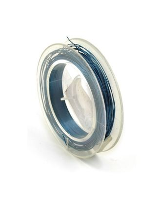Проволока Ø0,3мм HET-03 цв.голубой рул.10м арт. МГ-21481-1-МГ0193654