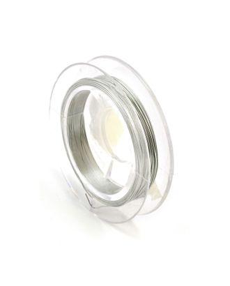 Проволока Ø0,3мм HET-01 цв.серебро рул.10м арт. МГ-21530-1-МГ0193859