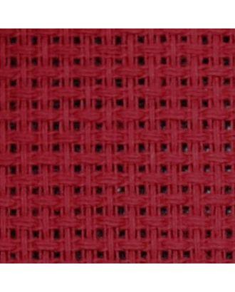 Канва средняя (10х55кл) 40х50см цв.бордо арт. МГ-21628-1-МГ0194229