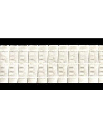 Лента шторная 67мм сборка:карандаш цв. белый рул. 50м арт. МГ-2154-1-МГ0195323