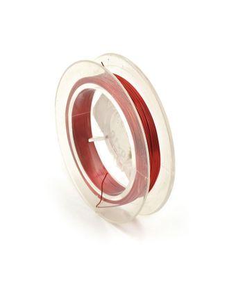 Проволока Ø0,3мм HET-11 цв.красный рул.50м арт. МГ-22220-1-МГ0196111
