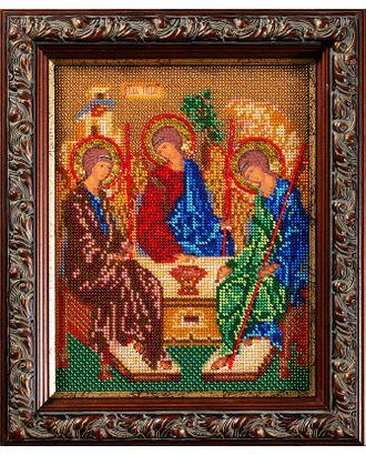 Набор для вышивания бисером КРОШЕ Святая Троица 19x24 см арт. МГ-22304-1-МГ0196367
