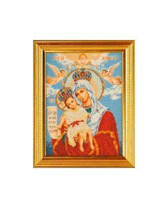 Набор для вышивания бисером КРОШЕ Богородица Милующая 20x26 см арт. МГ-22305-1-МГ0196368
