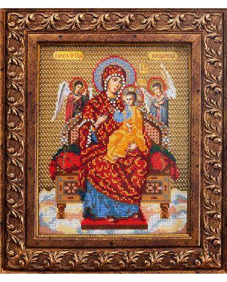 Набор для вышивания бисером КРОШЕ Богородица Всецарица 21x26 см арт. МГ-22309-1-МГ0196372