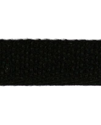Тесьма киперная ш.1,3см хлопок 1,8г/см цв.черный арт. МГ-2199-1-МГ0196427