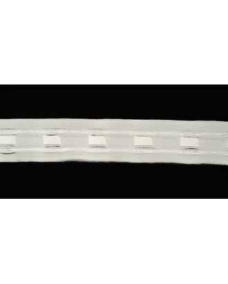 Лента шторная 32мм сборка: карандаш цв. белый рул. 100м арт. МГ-2200-1-МГ0196428