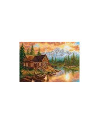 Набор для вышивания АЛИСА Вечер в горах 33х24 см арт. МГ-22360-1-МГ0196510