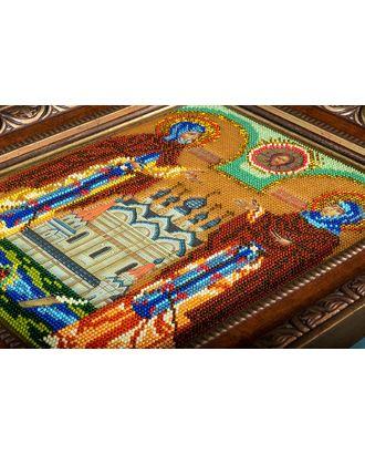 Набор для вышивания бисером КРОШЕ Петр и Февронья 20х25 см арт. МГ-22434-1-МГ0196681