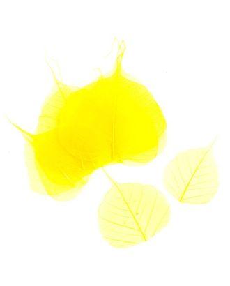 Скелетированные листочки MAGIC HOBBY цв.2 желтый арт. МГ-22513-1-МГ0196935