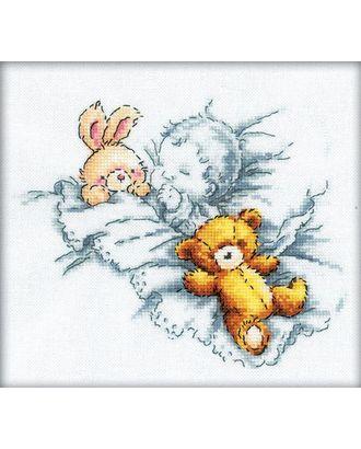 Набор для вышивания РТО Любимые игрушки 20х18 см арт. МГ-22537-1-МГ0196976
