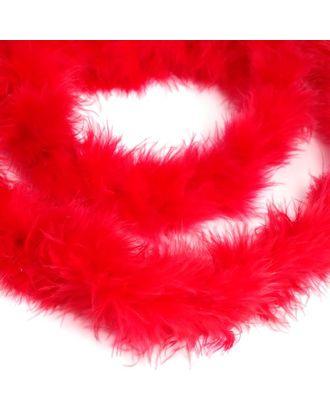Боа-пух уп.15±3г цв.красный уп.2м арт. МГ-78359-1-МГ0197494