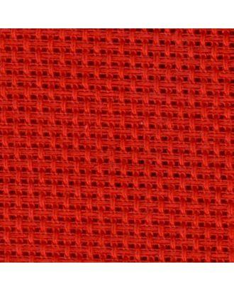 Канва средняя (10х55кл) 40х50см цв.красный арт. МГ-22937-1-МГ0198187
