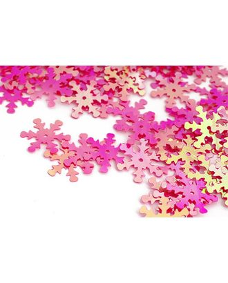 Пайетки россыпью Ideal 18мм цв.028 ярк.розовый уп.50г арт. МГ-2298-1-МГ0199341