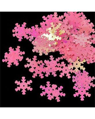Пайетки россыпью Ideal 18мм цв.029 розовый уп.50г арт. МГ-2299-1-МГ0199342