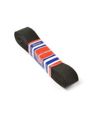 Резинка-продежка цв.черный ш.2,5см уп.5ярд А арт. МГ-90566-1-МГ0200093